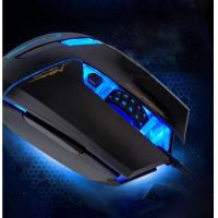 Quality Durable multi button Optical Wired mouse blue light , durable mouse for gaming for sale