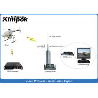 Buy HD Wireless AV Sender Long Range 25W COFDM Video Transmitter for Marines and UAV at wholesale prices
