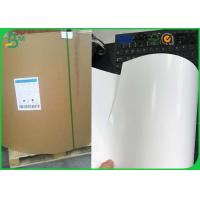 Quality Jumbo Roll One Side Coated Ivory Board , 230gsm 250gsm C1S Ivory Board for sale