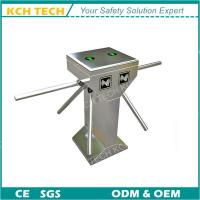 Quality Double Core Three Arms Tripod Turnstile with RFID Card Reader for sale