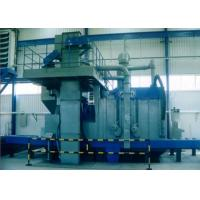 Quality Sectional Steel Plate Shot Blasting Machine High Efficiency 4m / Min Roller Speed for sale