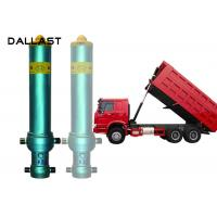 Quality 3 4 5 Stage Long Stroke Hydraulic Cylinder Lifting 13 - 90 Ton Dump Truck Tipper for sale