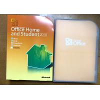 Buy cheap 32 Bit / 64 Bit Software Key Code For Microsoft Office Home And Student 2010 from wholesalers
