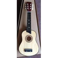 Quality Six String 25 Inch Wooden Toy Guitar Children Ukulele Natural Color AG25-3016C for sale