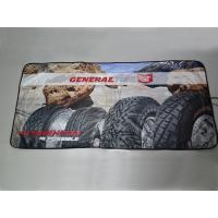 Quality Tyvek Car Sunshade/Front Car Sunshade with Full Area Colorful Printing for sale