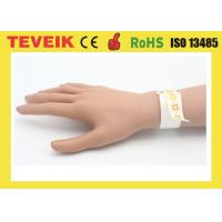 Waterproof Rfid Smart Bracelet Printable Medical Wristband For Hospital Patient Id Tracking