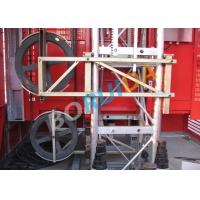 Quality Safety Mast Section Heavy Duty Cage Hoists Elevator Lift Machine 250m for sale