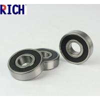 Quality Chrome Steel Car Engine Bearings Ball Bearing 6205 ZZ / 2RS Seals Type for sale