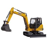 Quality Crawler Mounted Excavator , Mini Digger Excavator With 0.3m3 Excavator Bucket for sale
