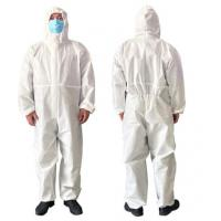 Quality Airy Disposable Protective Clothing For Clean Room / Pharmaceutical Industry for sale