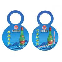 custom clothing paper hang tag printing in roll with glossy lamination factory