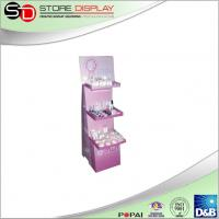China POS floor display stand for cosmetic advertising from China supplier on sale