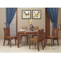 Quality Simple Contemporary Dining Room Furniture / Full Solid Wood Dining Table for sale