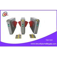 China CE Certificated Flap Barrier Gate ESD Aest Automatic RFID Reader on sale