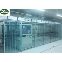 Quality ISO Approved Clean Room Modular Soft Wall Aluminum Frame For OLED Production for sale