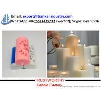 Quality white pillar candle factory China factory supply candle making best price for sale