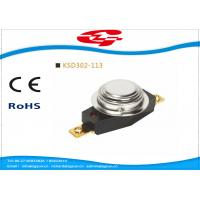 Quality Automatic Reset 3/4' Bimetal Disc Thermostat KSD302-113 with UL VED certificate for sale