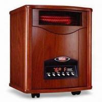 Quality Portable Quartz Infrared Heater with Efficient Heating, Pre-setting On/Off and Washable Pre-filter for sale