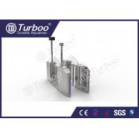 Quality Office Building Optical Barrier Turnstiles Security Access Control System for sale