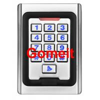 Quality Metal Keypad Stand Alone Proximity Card Reader , IP68 Waterproof Stand Alone Door Access for sale