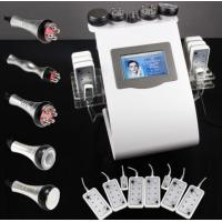 Quality Lipo Diode Laser Vacuum RF Ultrasonic Liposuction Cavitation Slimming Machine 5 in 1 Multi for sale