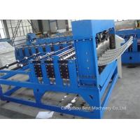 Quality PLC Control Roofing Sheet Roll Forming Machine 3kw Power 70mm Shaft Dia for sale