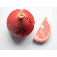 Quality Novelty Fruit Notepad / Megranate Notepad / Fruit Memo Pad for sale