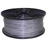 Quality 3d printer filament ABS 1.75mm 1kg Silver for sale