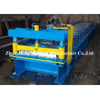 Quality Iron Rolling Mill Roofing Sheet Roll Forming Machine 7.5kw Hydraulic Control for sale