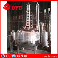 Quality 100 Gallons Steam Heated Vodka Still Distillation Column With Bubble Plates for sale