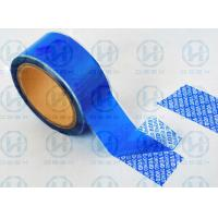 Buy Anti - Tear Security Packaging Tape / Tamper Resistant Tape Protect Brand Goods at wholesale prices