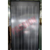 Quality Flat Plate Solar Collector Black Chrome Flat Sun Collector Solar Water Heater for sale