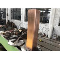 Quality copper mould tube for arc steel billet continuous casting machine for sale