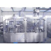 Quality Bottled Orange Juice Filling Machine With 32 Hot Filling Heads And Screw Cap for sale