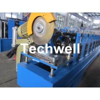 Quality 13 Forming Stations Roller Shutter Door Cold Roll Forming Machine With Manual Decoiler for sale