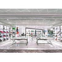 Buy Attractive Retail Shop Handbag Display Shelves White Coating Finished Surface at wholesale prices