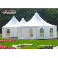 Buy Clear Span Large Frame Tent , Big Outdoor Tents For Weddings UV Resistant at wholesale prices
