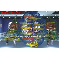 Buy cheap Anti Decay Color Adventure Playground Equipment For Park / School / Mall from wholesalers