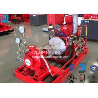 Quality 200GPM@155PSI End Suction Centrifugal Pump For Firefighting Red Color for sale