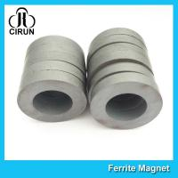 Quality High Performance Ferrite Ring Magnet For Loudspeaker / DC Brushless Motors for sale