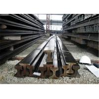 Quality 12m 12.5m Crane Rail Beam U71Mn 70 - 120mm Head Width Bearing 50 - 100 Tons for sale