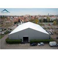 Quality White  Aluminium Frame Warehouse Tent With  Rainproof Large  Canopy Fabric for sale