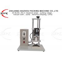 China 450A Semi Automatic Capping Machine , Electric Bottle Capping Machine on sale