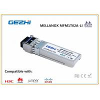 Quality MELLANOX MFM1T02A-LR 10G SFP+ Transceiver LR LC, 10 Km, 1310 nm for sale