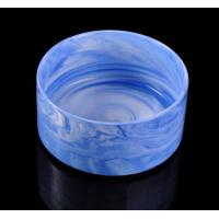 Quality 580ml Ceramic Candle Holder , personalized Marble Candle Container for sale