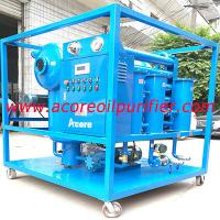 Quality Vacuum Transformer Oil Filteration Machine Manufacturer,Oil Treatment Plant Company for sale