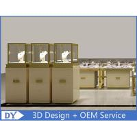 Quality Luxury Smooth Surface Shoe Display Cabinet Customized With Lighting Logo for sale