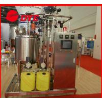 Buy Automatic Stainless Steel Cip Washing System , Beverage Machinery Gas Heating at wholesale prices