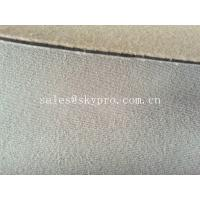Quality 60 wide maximum neoprene fabric roll sheet with colored terry towel lamination for sale