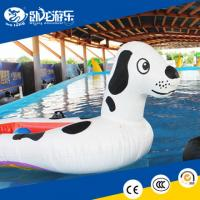 China Outdoor Inflatable Water Toys For The Lake, inflatable Spotty Dog on sale